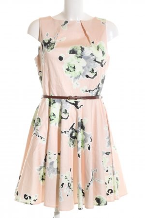 Closet A Line Dress flower pattern elegant