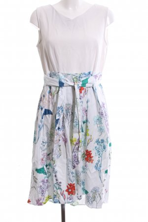 Closet A Line Dress flower pattern casual look