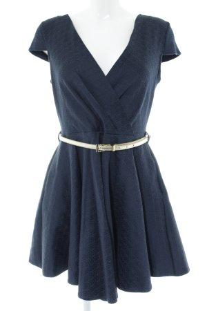 Closet A-Linien Kleid blau Casual-Look