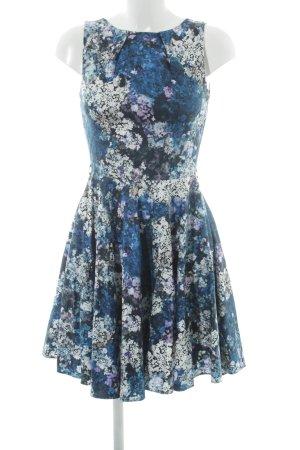 Closet A-Linien Kleid Allover-Druck Elegant