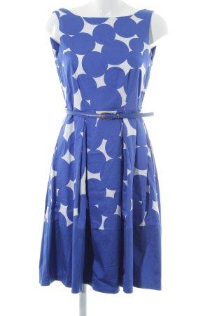 6bd97a824f9529 Closet A-Linien Kleid blau-weiß Punktemuster 50ies-Stil