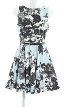 Closet A-Linien Kleid Blumenmuster Elegant