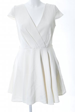 Closet A Line Dress white casual look