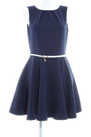 Closet A-Linien Kleid dunkelblau-blau Party-Look