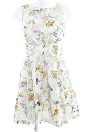 Closet A-Linien Kleid florales Muster Romantik-Look