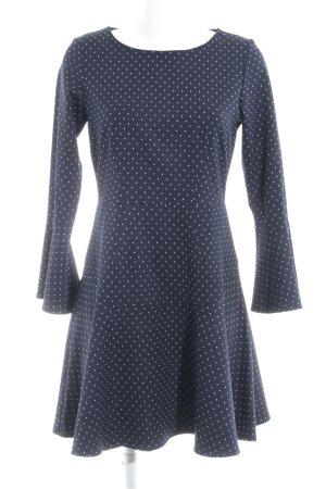 Closet A-Linien Kleid Punktemuster Casual-Look