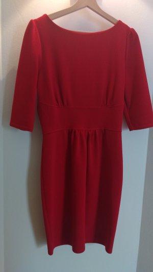Closet BLU rotes Kleid mit Ärmeln