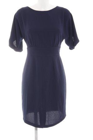 Closet Blusenkleid blau Business-Look