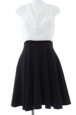 Closet Blusenkleid schwarz-weiß Elegant