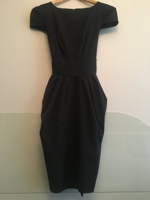 Closet Sheath Dress black polyester