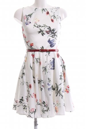 Closet Cocktail Dress flower pattern casual look