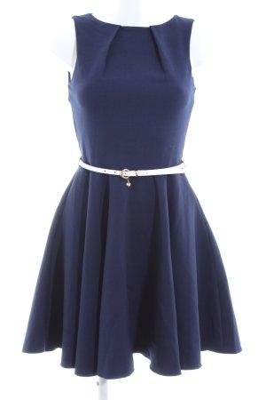 Closet Etuikleid blau-weiß Elegant