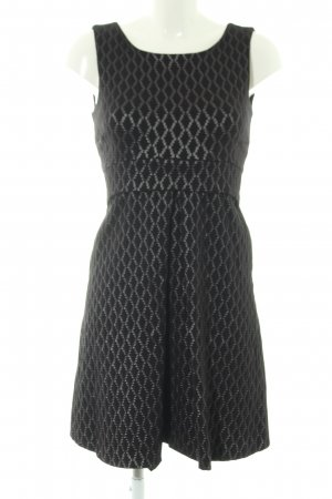 Closet Sheath Dress black-silver-colored allover print business style