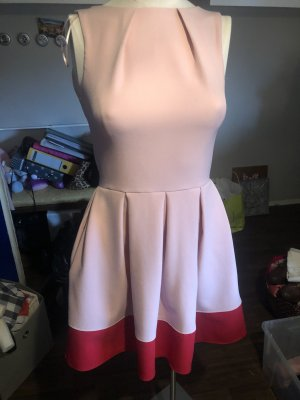 Closet Cocktail Dress pink-brick red