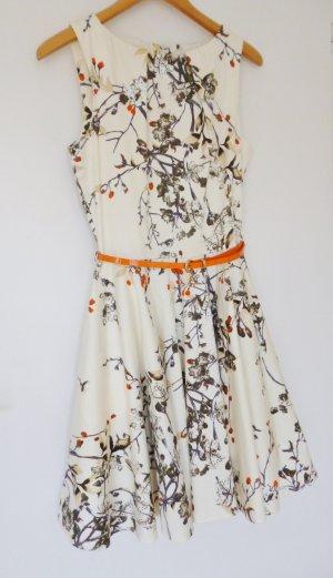 Closet Kleid beige orange