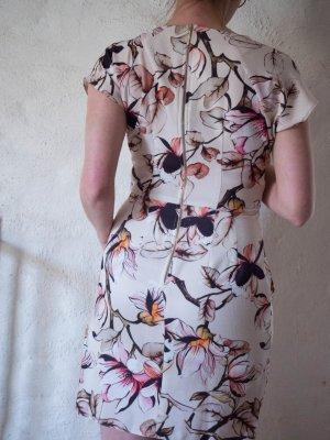 Closet Kleid V-Ausschnitt Blumendruck Floral Gr. 38