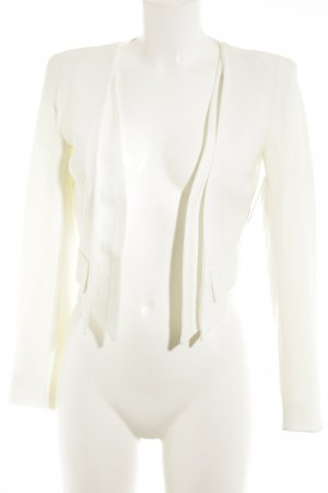 Closet Blazer corto bianco sporco stile professionale