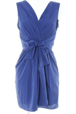 Closet Kurzarmkleid blau-dunkelblau Casual-Look