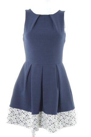Closet Kurzarmkleid blau Elegant