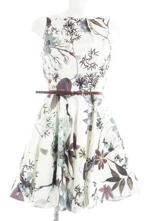 Closet Kurzarmkleid Blumenmuster Elegant