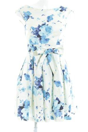 Closet Kurzarmkleid florales Muster 30ies-Stil
