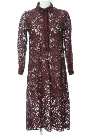 Closet Langarmkleid purpur Romantik-Look