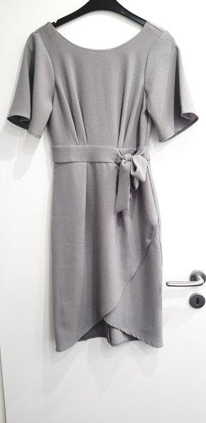 Closet Midi Dress gold-colored-light grey mixture fibre