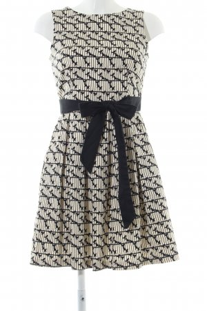 Closet Midi Dress natural white-black animal pattern casual look