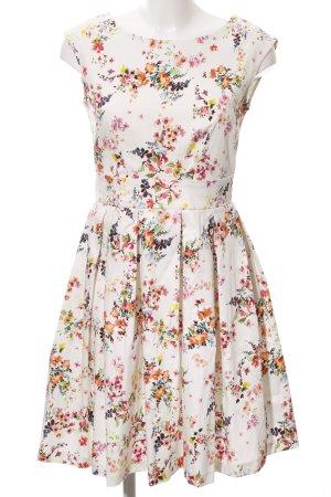 Closet Midi Dress flower pattern casual look