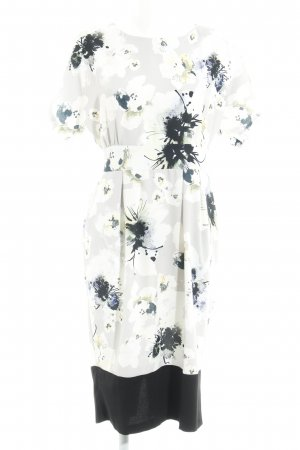 Closet Midikleid florales Muster Business-Look