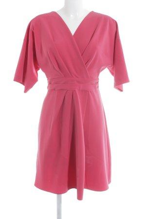 Closet Midi Dress raspberry-red elegant
