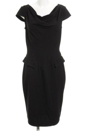 Closet Vestido a media pierna negro elegante