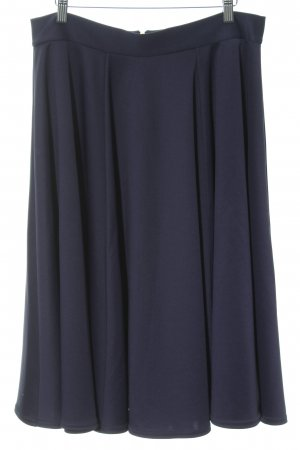 Closet Midi Skirt dark blue-gold-colored elegant
