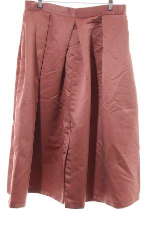 Closet Midirock roségoldfarben Elegant