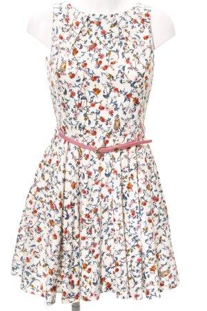 Closet Minikleid florales Muster Casual-Look