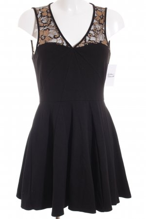 Closet Lace Dress black-gold-colored elegant