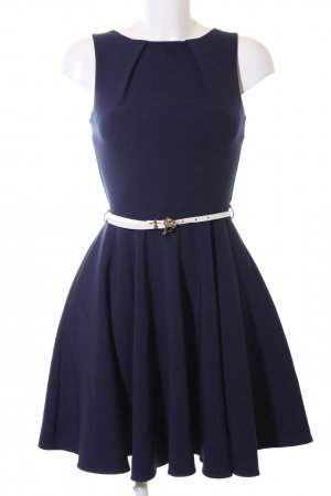 Closet Pinafore dress blue casual look