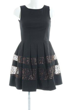 Closet Trägerkleid schwarz Elegant