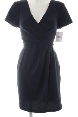 Closet Wickelkleid dunkelblau Elegant