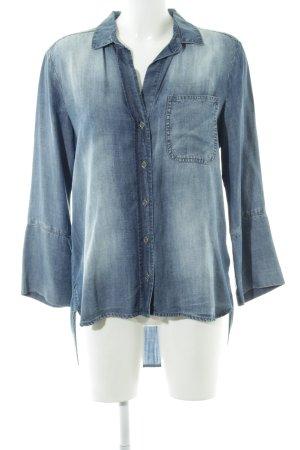cloth & stone Denim Blouse blue casual look