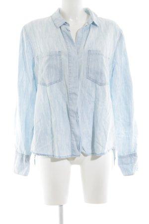 cloth & stone Langarmhemd blau Casual-Look