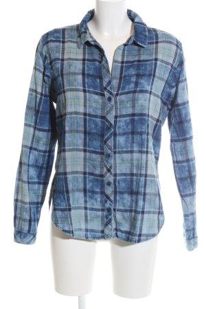 cloth & stone Long Sleeve Shirt blue-primrose check pattern casual look