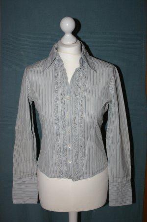CLOTHCRAFT Bluse gestreift langarm Gr. 36 wie NEU