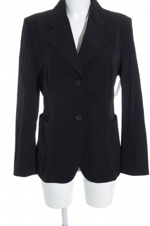 Clothcraft Long-Blazer schwarz Casual-Look