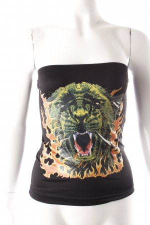 Clothes Tube Top Tigerprint