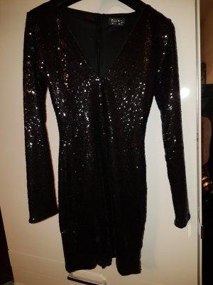 Club L ASOS / Gr. 36 S / Silvesterkleid mit Pailetten glitzer Stretch / Kleid
