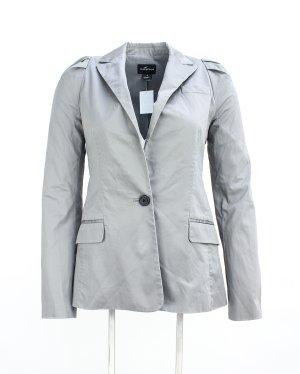 Club Monaco Wool Blazer silver-colored