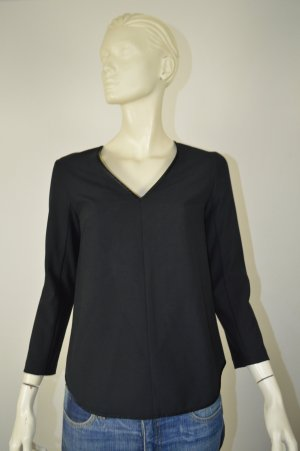 Club Monaco by Ralph Lauren Long Sleeve Blouse black polyester