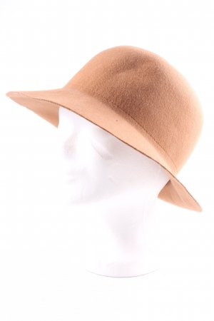 Club Monaco Cloche Hat light brown elegant