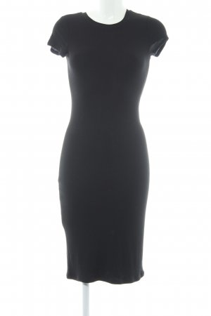 Club Monaco Jerseykleid schwarz Casual-Look